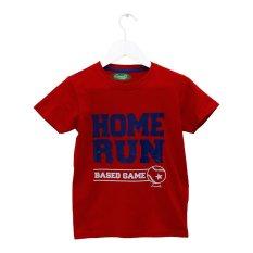Harga Carvil Homerun T Shirt Pria Merah Dan Spesifikasinya