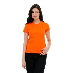 Beli Carvil Hyori Kaus Wanita Orange Yang Bagus