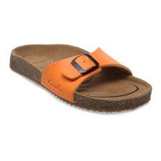 Promo Carvil Khanza 01L Footbed Sandal Wanita Oranye Carvil