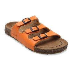 Review Terbaik Carvil Khanza 03L Footbed Sandal Wanita Oranye