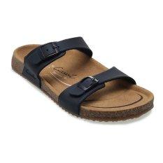 Diskon Produk Carvil Khanza 04L Footbed Sandal Wanita Hitam
