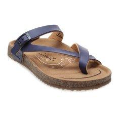 Situs Review Carvil Khanza 06L Footbed Sandal Wanita Ungu