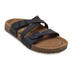Tips Beli Carvil Khanza 07L Footbed Sandal Wanita Dark Brown