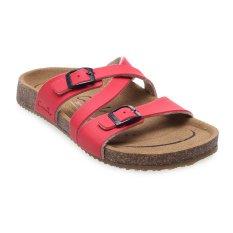 Top 10 Carvil Khanza 07L Footbed Sandal Wanita Merah Online
