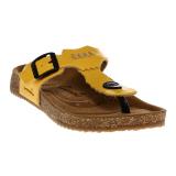 Jual Carvil Khanza 08L Footbed Sendal Wanita Yellow Carvil Branded