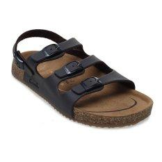 Jual Carvil Khanza 10L Footbed Sandal Wanita Dark Brown Ori
