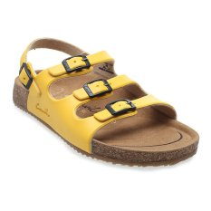Beli Carvil Khanza 10L Footbed Sandal Wanita Kuning Dengan Kartu Kredit