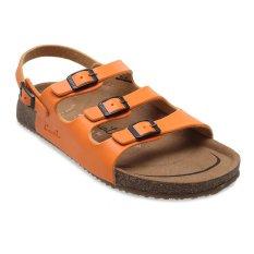 Jual Carvil Khanza 10L Footbed Sandal Wanita Oranye Carvil Grosir