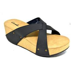 CARVIL - LADIES SANDAL CASUAL ALISA BLACK