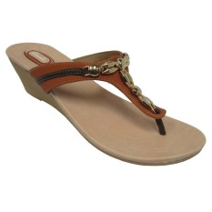 CARVIL - LADIES SANDAL CASUAL CANNY-01 L STONE