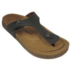 Toko Carvil Ladies Sandal Casual Khanza 02 L Dark Brown Termurah