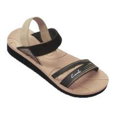Harga Carvil Ladies Sandal Sponge Palupi Beige Brown Seken