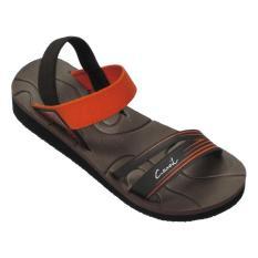 Spesifikasi Carvil Ladies Sandal Sponge Palupi Brown Orange Yang Bagus Dan Murah