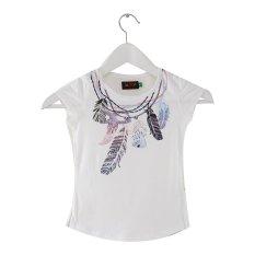 Carvil Lea T-Shirt Wanita - Putih