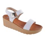 Toko Carvil Libra 01L Women S Casual Sandal Putih Yang Bisa Kredit