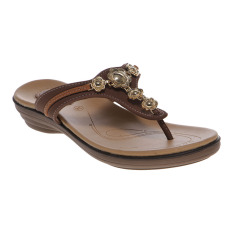 Toko Carvil Likes 03L Ladies Sandal Casual Brown Carvil Di Indonesia