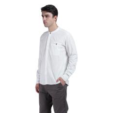 Carvil Lino Men's Shirt - Off White