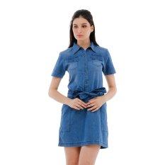 Spesifikasi Carvil Loa 02 Dress Biru Terbaik