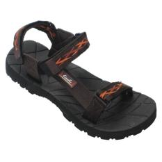 CARVIL - MAN SANDAL GUNUNG PUTAGON-GM BLACK-BROWN