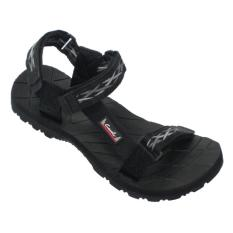 CARVIL - MAN SANDAL GUNUNG PUTAGON-GM BLACK-GREY