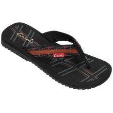 Review Carvil Man Sandal Sponge Dumai Black Grey