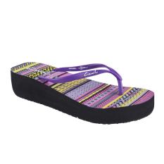 Jual Carvil Maribel L Women S Sponge Sandal Ungu Carvil Branded