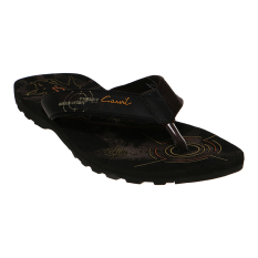 Beli Carvil Militan M Man Sandal Sponge Black Brown Carvil