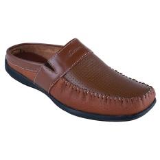 Carvil Moskow Man Sepatu - Coral Brown