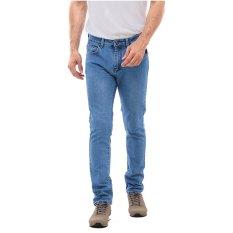 Spesifikasi Carvil Muji 39 Jeans Pria Biru Muda Murah
