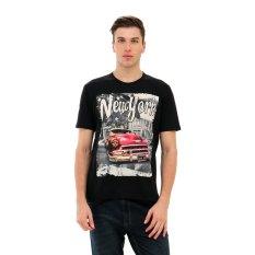 Carvil Nyk 01 T Shirt Pria Hitam Terbaru