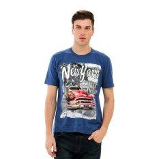 Toko Carvil Nyk 02 T Shirt Pria D Blue Carvil