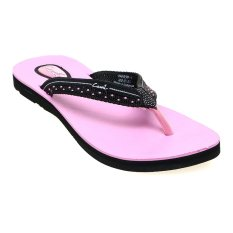 Beli Carvil Panera L Sponge Sandal Wanita Hitam Pink Terbaru