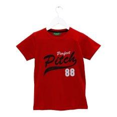 Spesifikasi Carvil Pitch T Shirt Pria Merah Lengkap Dengan Harga