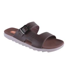 Tips Beli Carvil Qiu Qiu 991M Men S Casual Sandal Dark Brown Yang Bagus