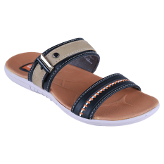 Carvil Rembo-822C Boy Sandal Casual - Black