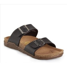 CARVIL SANDAL CASUAL MEN DUKE 02 DARK BROWN