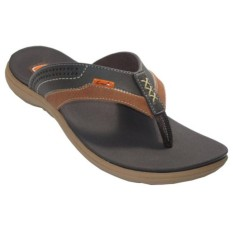 CARVIL SANDAL CASUAL MEN VISCARA 181M DARK BROWN