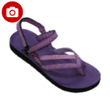 Review Carvil Saudi Gl Ladies Sandal Sponge Purple Carvil
