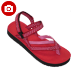 Jual Carvil Saudi Gl Ladies Sandal Sponge Red Indonesia