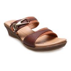 Spesifikasi Carvil Shera 02L Casual Sandal Wanita Stone Yg Baik
