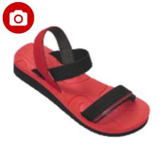 Beli Carvil Siomi L Ladies Sandal Sponge Red Black Di Indonesia