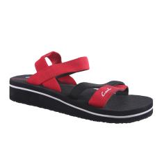 Review Pada Carvil Sonia L Women S Sponge Sandal Merah Hitam