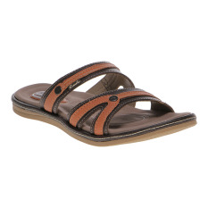 Harga Carvil Sovie 03L Ladies Sandal Casual Dk Brown Baru