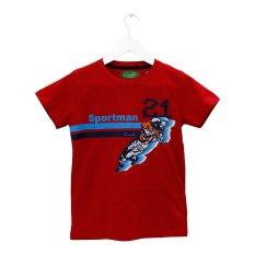 Harga Carvil Sport21 T Shirt Pria Merah Branded