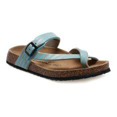 Spesifikasi Carvil Stripy 03L Footbed Sandal Wanita Beige Tosca Murah