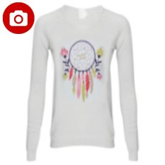 Harga Carvil Sweet W8 Sweater Wanita Off White New