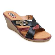 Promo Carvil Syfa 01L Casual Sandal Wanita Hitam