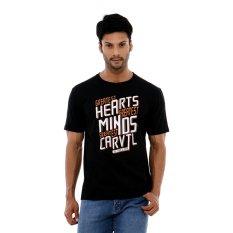Carvil Teeblk B1 T Shirt Man Black Jawa Barat Diskon