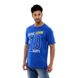 Jual Beli Carvil Teeblu B1 T Shirt Man Blue Di Indonesia