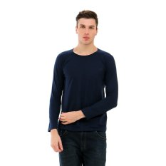 Review Toko Carvil Terry Sweater Pria Navy Online